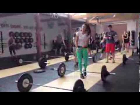 Andrea Ager Teaching Snatch & Clean and Jerk Image 1