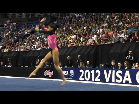 Laurie Hernandez 2012 Floor Routine