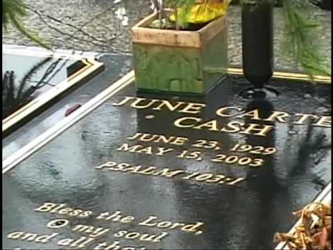 Johnny Cash Open Casket Johnny cash gravesite