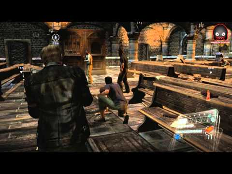 Resident Evil 6 - Cap 4 (En la Iglesia del Careteta) en Espaol - GOTH