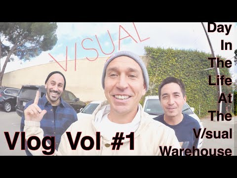 Joey Brezinski Vlog Vol #1 V/SUAL Warehouse