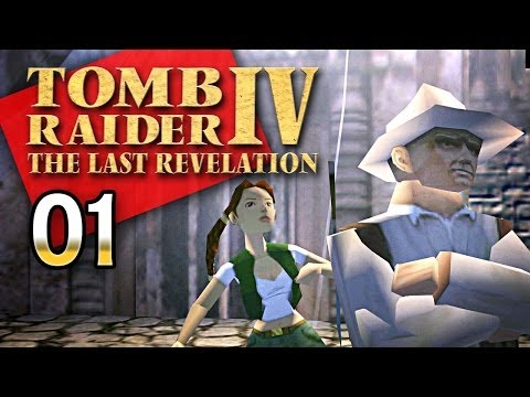 Tomb Raider 4 #001 [GER] - Frau Croft, bitte zum Dienst - Let's Retro