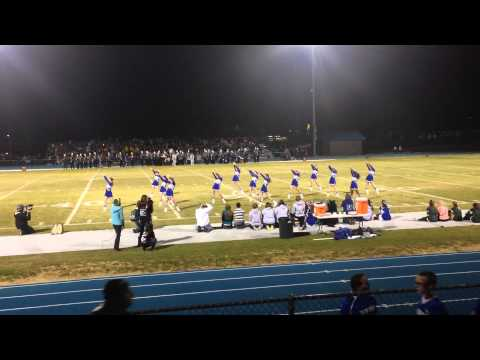 Snowflake High School Cheer Fall 2013