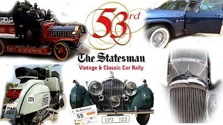 53 Statesman Vintage car & Classic Car Rally 2019|PerfectAli Vlog