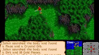 Amiga Longplay The Faery Tale Adventure