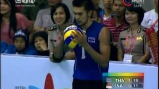 THAILAND-INDONESIA Men
