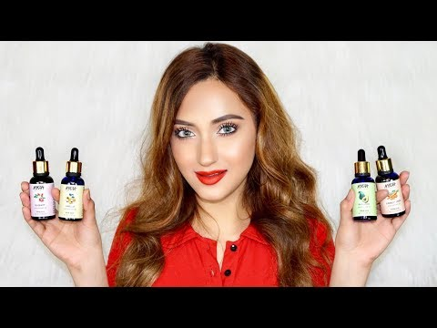 How To USE OILS | *New* NYKAA Cold Pressed Carrier Oils Review
