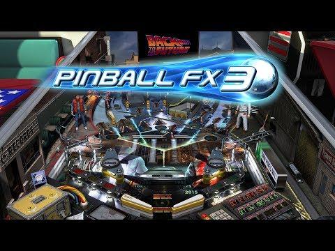 Pinball FX3 Ya Disponible!!! Primer Contacto, Novedades y Back To the Future Pinball