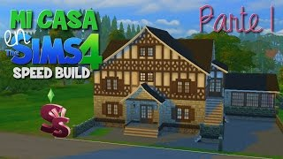 Mi casa en Los Sims 4 | Speed Build | Parte 1