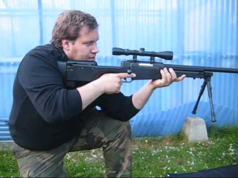 Well L96 / Well MB-01 / Warrior MB-01 Airsoft Spring Sniper Rifle Review