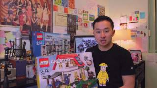 All Things Lego-  Stop motion Animated Build - Creator Hillside House (5771) Review
