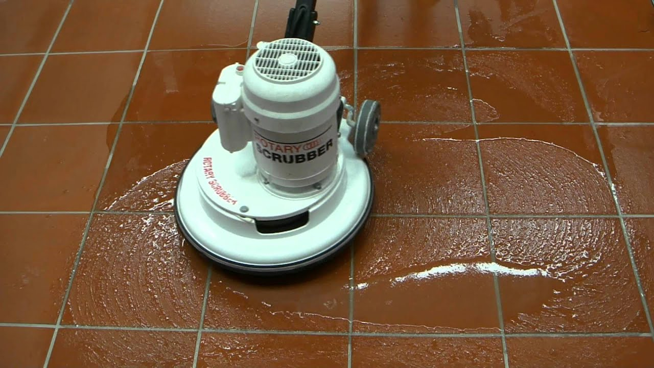Wax for tile floors