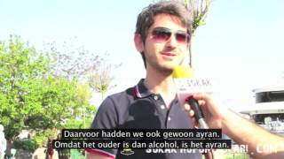 Straatinterview: Is ayran de nationale drank van Turkije?