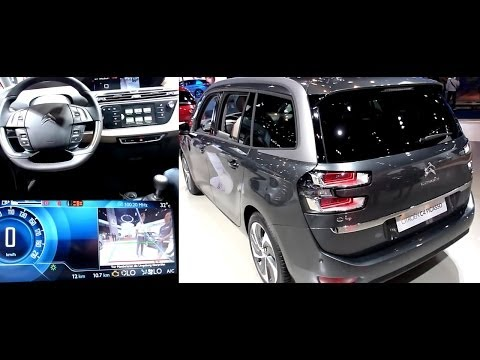 2013 CITROEN GRAND C4 PICASSO THP 155 EXCLUSIVE Exterieur & Interieur in Detail IAA 2013