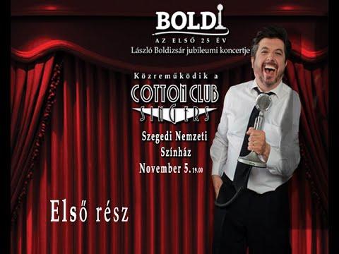 """""""Boldi, az Első 25 év!"""" koncert Szegeden. 2016.11.05. ELSŐ RÉSZ."""
