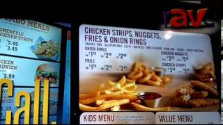 DSE 2013: Sicom Systems Shows Off Vertical Menu Boards for QSR
