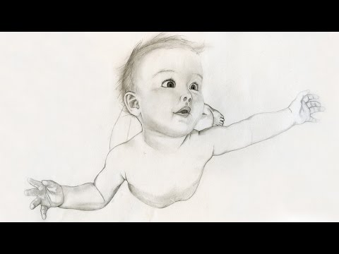 BABY - Speed Drawing - BABY zeichnen