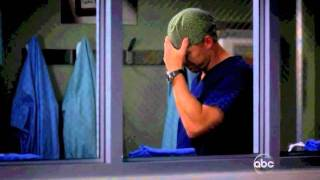 Grey's 8x09 Owen comforting Cristina