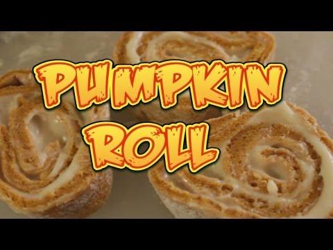 Vegan Pumpkin Roll – Cooking with The Vegan Zombie
