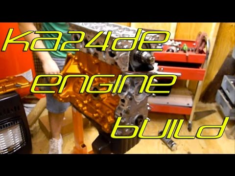 Eps 24 Engine build: KA24DE