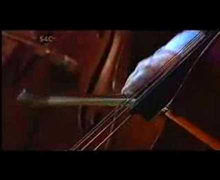 Welsh composer Karl Jenkins conducting his own work Palladio, played brilliantly by Catrin Finch on the electric harp. This was a concert performed in Cardif...