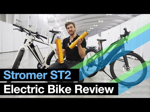 ELECTRIC BIKE REVIEW: Stromer ST2 (Luxury E-Bike)