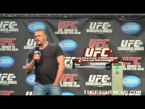 Fight Nerd Archives Chuck Liddell Q  A from UFC 128  Part 3 of 5
