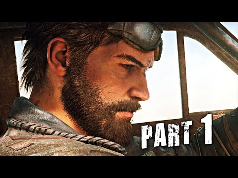 Mad Max Walkthrough Gameplay Part 1 - Wasteland - Mission 1 (Video Game)