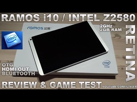 Ramos i10 Tablet [REVIEW] Intel Z2580 2GHz/2GB RAM 10.1 Inch Retina / Android Tablet