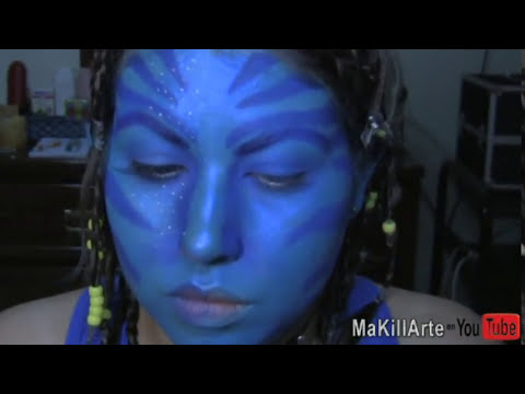 HALLOWEEN: Maquillaje de AVATAR/ NEYTIRI make up