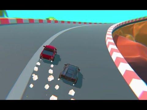 Cartoon Mini Racing Game Level 46 Car Racing Games