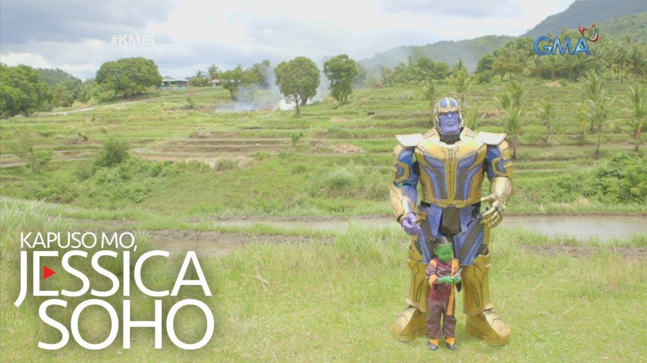Kapuso Mo, Jessica Soho: Pinoy Thanos at Gamora, kilalanin!