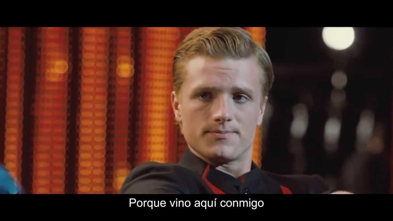 Los Juegos del Hambre - Caesar Flickerman entrevista a Peeta (sub ...