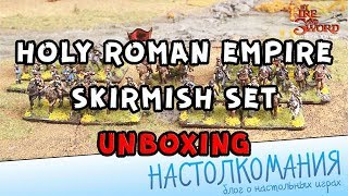 By Fire and Sword: Holy Roman Empire skirmish set - Unboxing