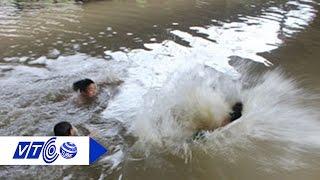 9 học sinh chết đuối trên sông Trà Khúc | VTC