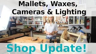 Mallets, Waxes, Cameras & Lighting - Shop Update