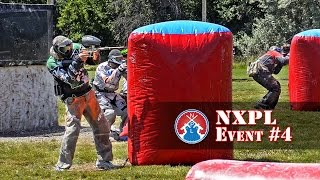 NXPL Event #4 Tournament Game Footage at Lone Wolf Paintball Michigan