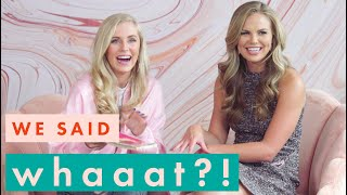 Hannah B Put Mashed Potatoes On My Face | We Said Whaaat? with Cosmo Assistant Sam Feher