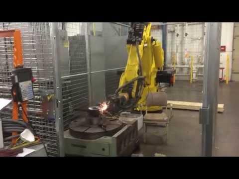 Fanuc Robot Deburring Gear at ITAMCO