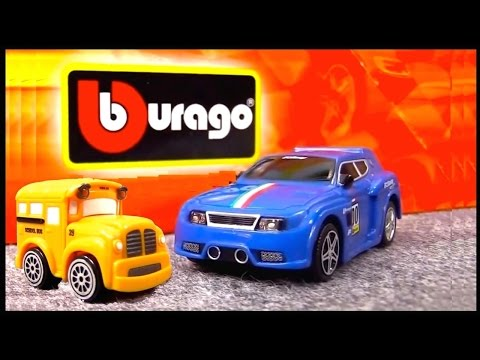 Toy Cars: CRASH SUPERHEROES! Bussy & Speedy Toy Cars Construction Demo - Videos for Kids Compilation