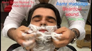 Asmr Massage 33,000 subscribers  Thanks(beard cut)(sheet washing)(Magic massage)(sakal traşı)