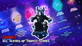 All scenes of Infinity Stone in Movies compilation l HINDI l 2018 (Marvel Cinematic Universe)