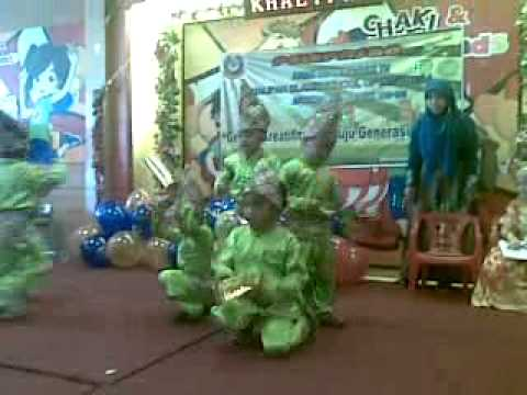 Tari Ganrang Bulo video