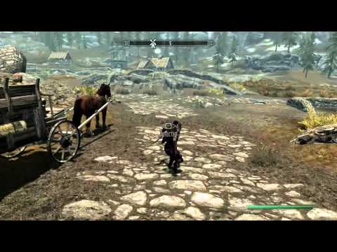 Skyrim GLITCH Sprint while Sneaking without Perk. Exploit for PC/360/PS3