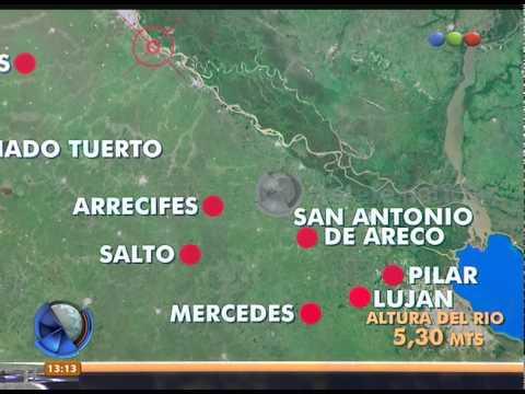 Ciudades afectadas por el temporal - Telefe Noticias