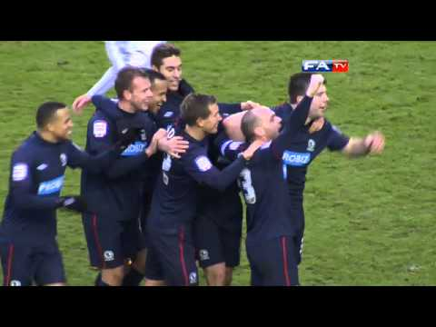 Derby County 0-3 Blackburn Rovers | The FA Cup 4th Round 2013