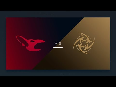CS:GO - mousesports vs. NiP [Inferno] Map 1 - EU Day 17 - ESL Pro League Season 6