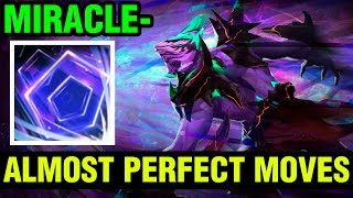 Almost Perfect Moves! - Miracle- Faceless Void 7.16 - Dota 2