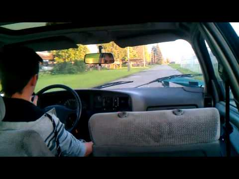 Opel Omega TURBO 500hp onboard city drift