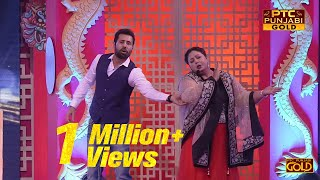 Binnu Dhillon | Anita Devgan | Husband Wife Jokes | PTC Punjabi Film Awards 2017